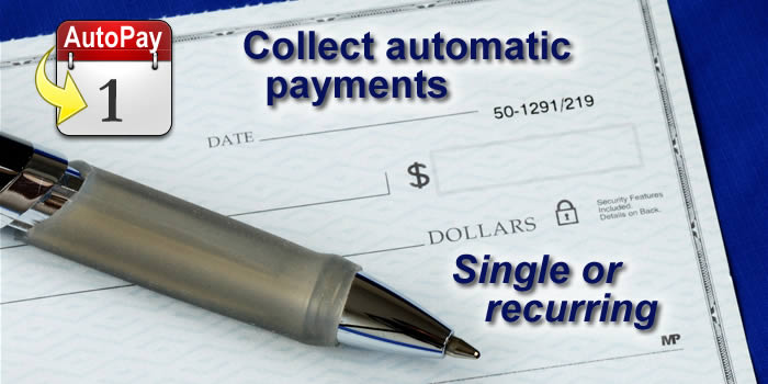 Receive automatic payments